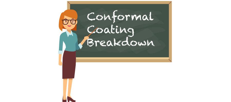 Conformal Coating breakdown