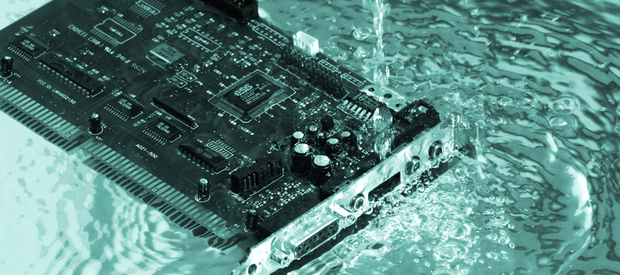 waterproof PCBs with parylene
