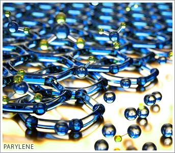 parylene atomic structure
