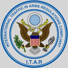 International Traffic In Arms Regulations Compliant Icon